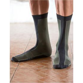 Santini Classe High Socks Herren verde militare